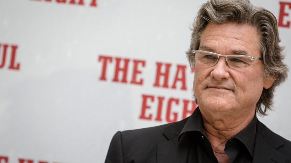 Kurt Russell unknowingly smashed heirloom guitar on 'The Hateful Eight' set